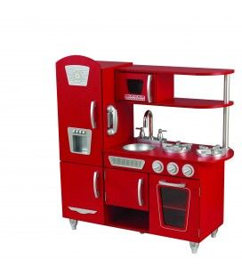 53173 Red Vintage Kitchen