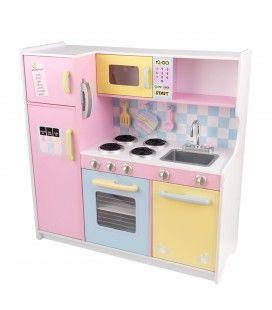 Cuisine en bois rose pastel - KidKraft 53181