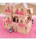 Château de princesse en bois
