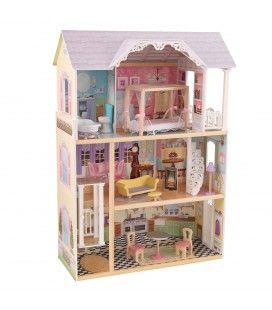 Maison de poupées 3 étages et ascenseur