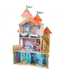 65939 Ariel Land to Sea Castle Dollhouse (DISC)