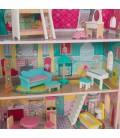Maison de poupée rose et bleu - KidKraft 65941