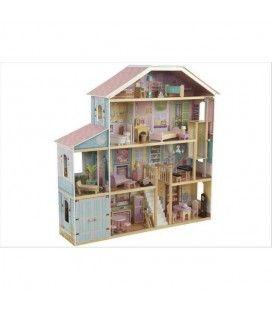 Maison de poupées rose et bleu - 65954 KidKraft