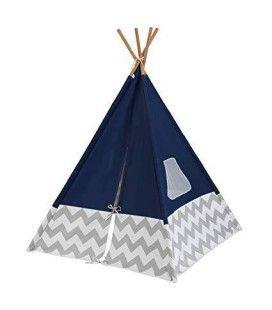 Tipi cabane TeePee - bleu marine Kidkraft 00228