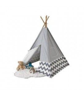 Tipi cabane TeePee - gris clair Kidkraft 00228