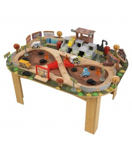 17211 Thunder Hollow Track Set & Table (DISC)