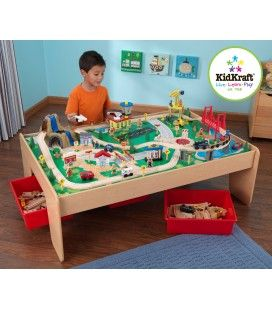 17850 Waterfall Mountain Train Table and Set
