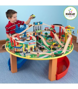 17985 City Explorer's Train Set & Table (DISC)