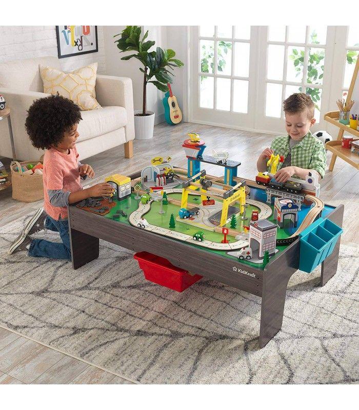 Sur Enfants Ville Entière Pliable Circuit Table 54Rj3ALq