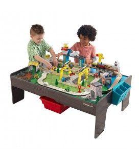 Circuit enfants ville entière sur table pliable