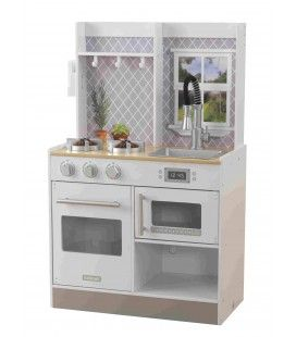 53395 Let's Cook Wooden Play Kitchen