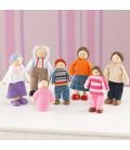 Ensemble Famille De 7 Poupées Kidkraft 65202