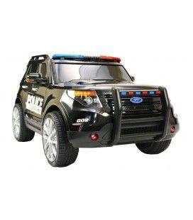 SUV de police américaine électrique réaliste, 12V