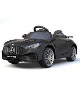 Voiture électrique pour enfant Mercedes AMG GTR noire, 12V