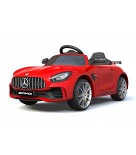 Voiture électrique pour enfant Mercedes AMG GTR rouge, 12V
