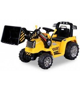 Tracteur électrique jaune 50W