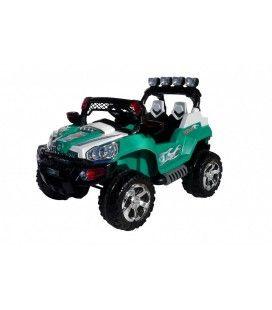Jeep 801 électrique verte pour enfant - 6 km h