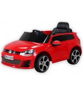 Petite VolksWagen électrique rouge 70W