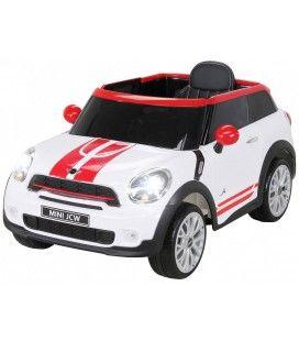 SUV Mini PaceMan électrique blanc - 6 km h