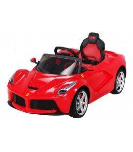 Voiture électrique LaFerrari rouge pour enfant - 50W