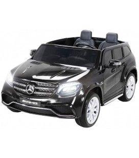 SUV Mercedes noir GLS AMG pour enfant - 12V