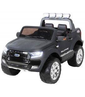 Mini SUV Ford Ranger noir mat 2018 pour enfant - 12V