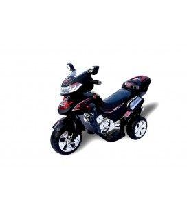 Moto électrique noire pour enfant - 6V