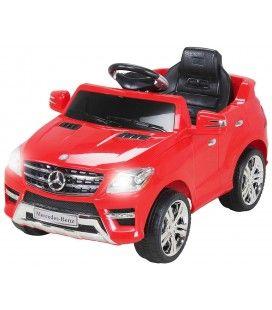 Mercedes ML 63 électrique rouge pour enfant - 50W