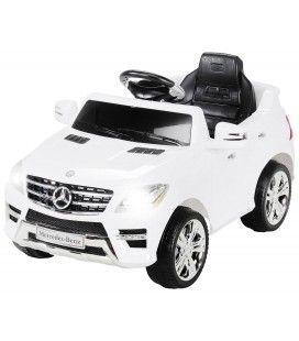 Mercedes ML 63 électrique blanc pour enfant - 50W