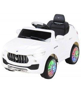 Petit SUV Maserati blanc électrique - 6 km h
