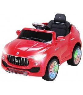 Petit SUV Maserati rouge électrique - 6 km h