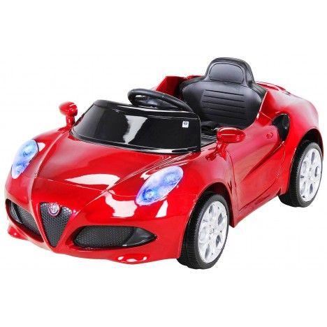 Électrique Rouge Petite Romeo 4c Alfa BoerdxWC