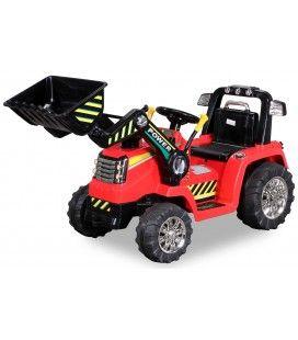 Mini Tracteur électrique rouge 50W