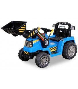 Mini Tracteur électrique bleu 50W