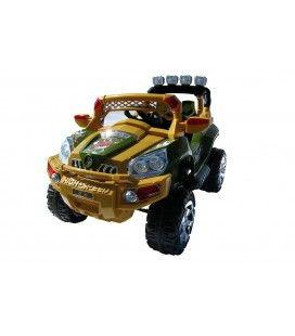 Jeep 801 électrique jaune pour enfant - 6 km h