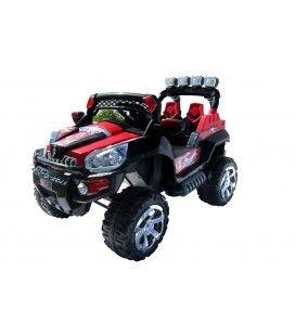 Jeep 801 électrique rouge pour enfant - 6 km h