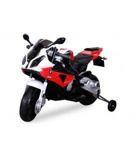 Petite moto électrique rouge pour enfant - 5km h