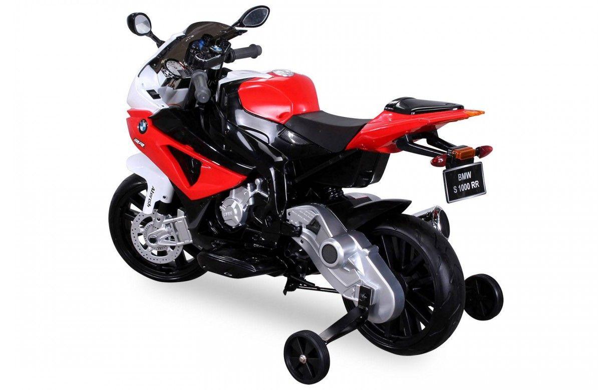 petite moto lectrique rouge pour enfant decome store. Black Bedroom Furniture Sets. Home Design Ideas
