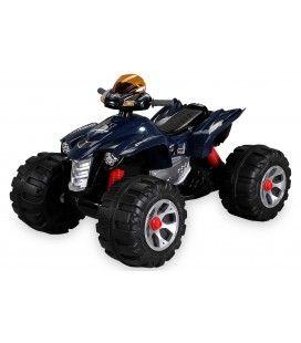 Mini quad électrique bleu pour enfant - 5 km h