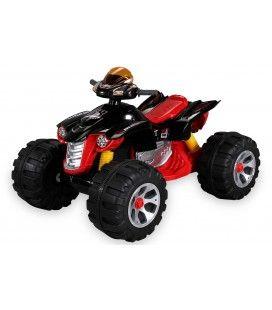 Mini quad électrique rouge pour enfant - 5 km h