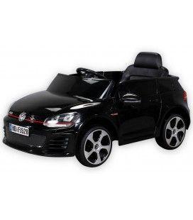Petite VolksWagen électrique noire 70W