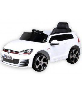 Petite VolksWagen électrique blanche 70W