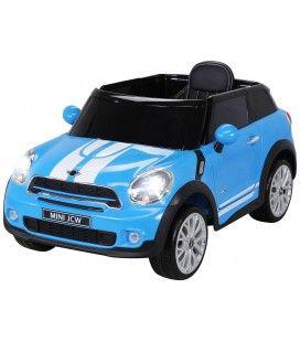 SUV Mini PaceMan électrique bleu - 6 km h