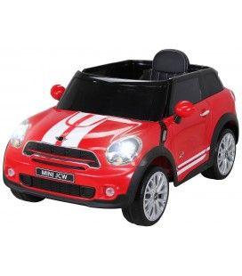 SUV Mini PaceMan électrique rouge - 6 km h