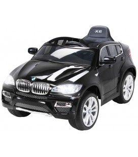 SUV BMW X6 électrique noir pour enfant