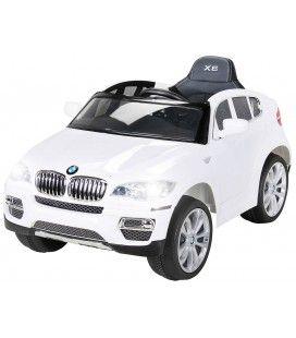 SUV BMW X6 électrique blanc - 12V