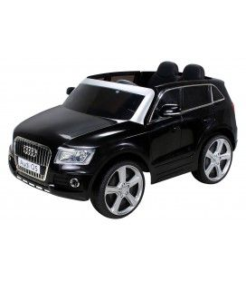 SUV Audi Q7 noir électrique pour enfant - 6 km h