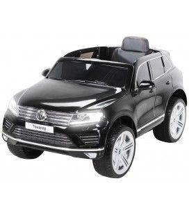 Mini SUV VolksWagen Touareg noir pour enfant