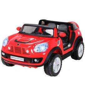 SUV Mini Cooper électrique rouge - 12V