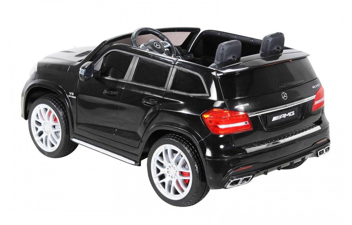 Mini SUV Mercedes noir GLS AMG pour enfant - Decome Store